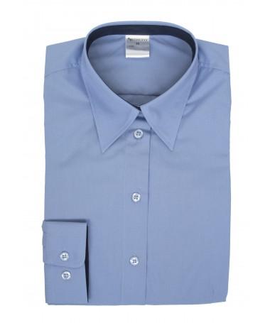 Girls' blouse Donna. Colour: light blue, dark blue
