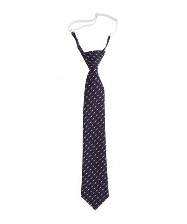 Tie with Elastic, bright blue