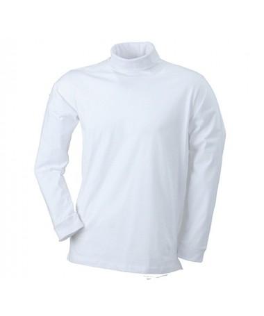 Pullover kõrge kaelusega JN183 / valge