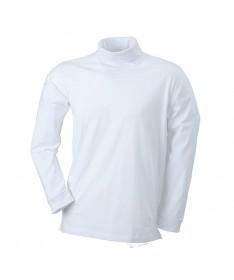 Rollneck shirt JN183 / white