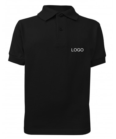 children´s polo JN070k balck