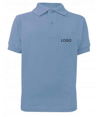 children´s polo JN070k aqua