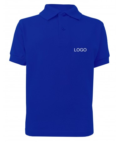 children´s polo JN070k dark-royal