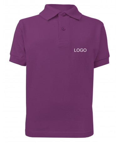 children´s polo JN070k purple
