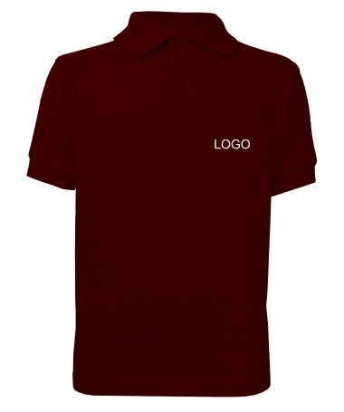children´s polo JN070k wine
