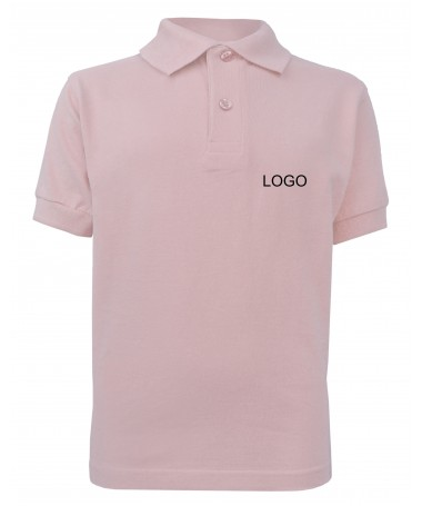 children´s polo JN070k rose