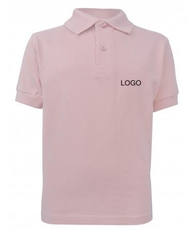 Laste polosärk JN070k roosa