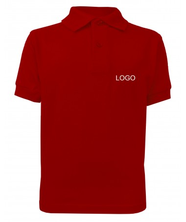 Children´s polo JN070k tomato