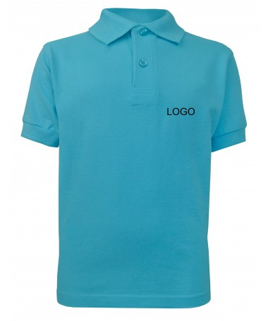 children´s polo JN070k turquoise