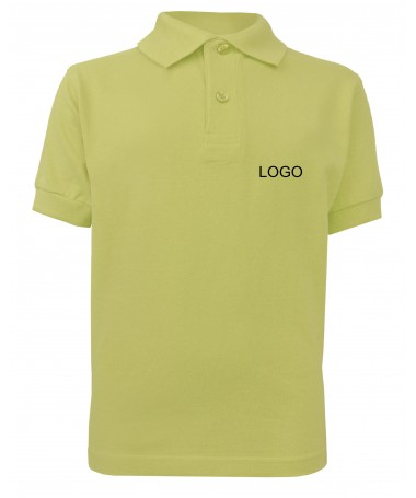 children´s polo JN070k yellow