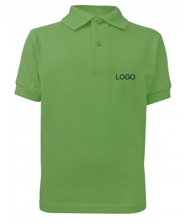 childern´s polo  JN070k lime-green