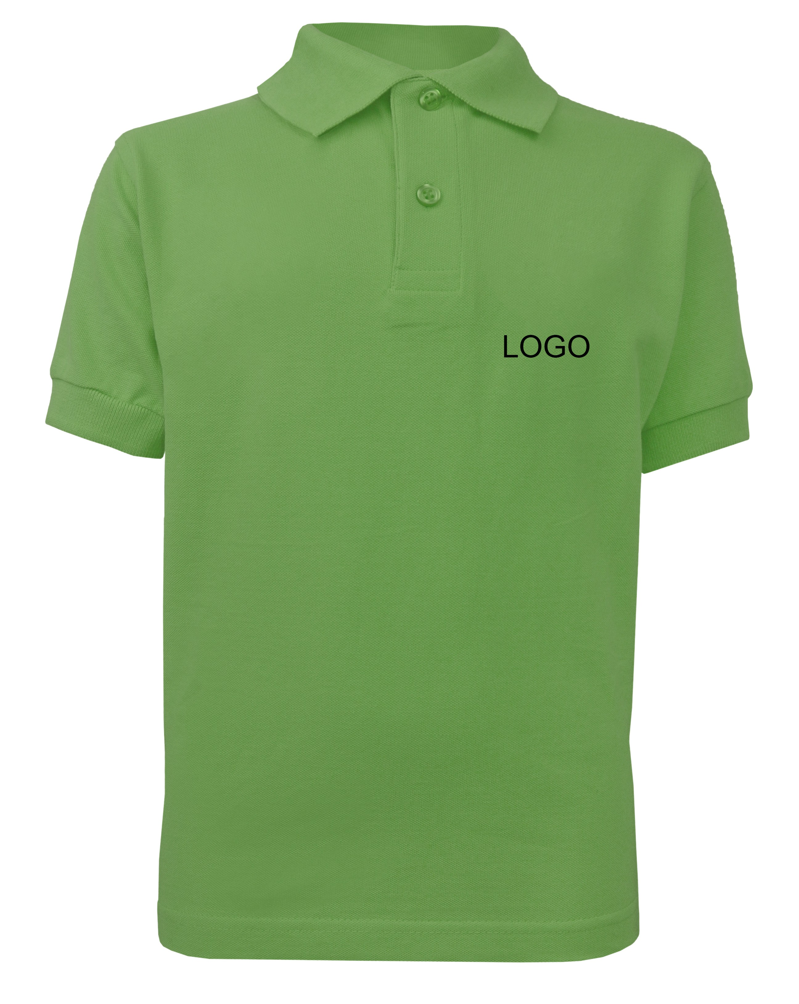 Children S Polo Jn070k Lime Green Norrison