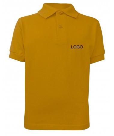 Meeste polosärk JN070K gold-yellow