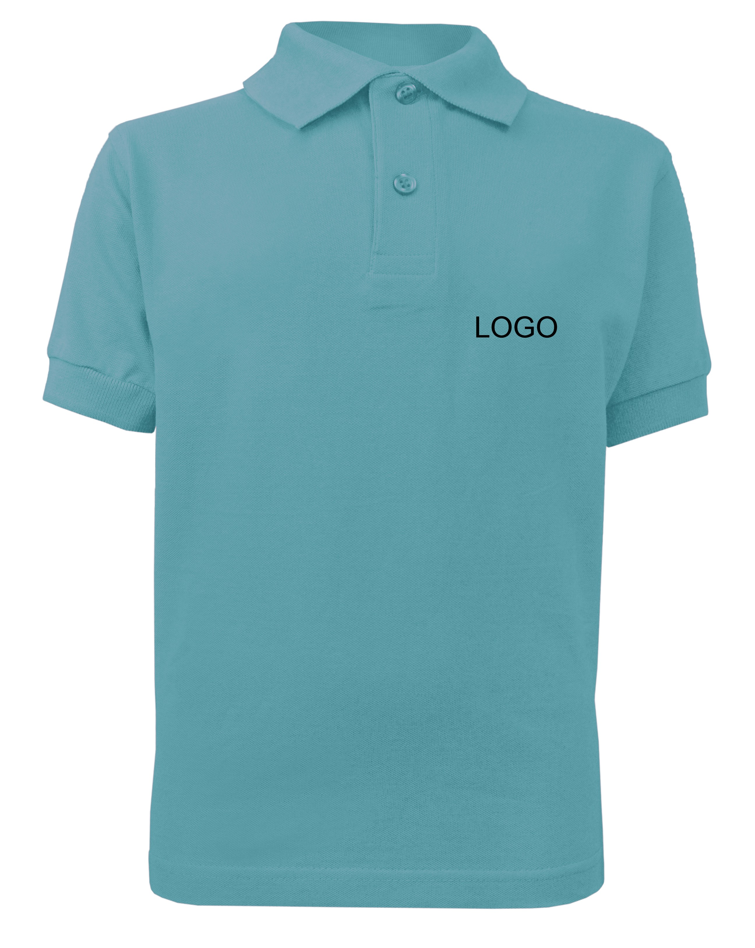 Children S Polo Jn070k Sky Blue Norrison