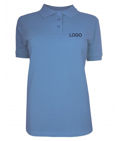 Ladies´ polo JN071 aqua