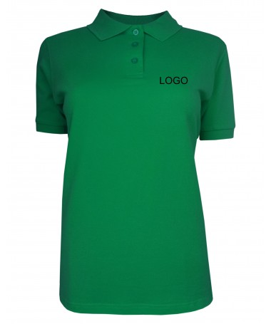 Ladies´ polo JN071 irish-green