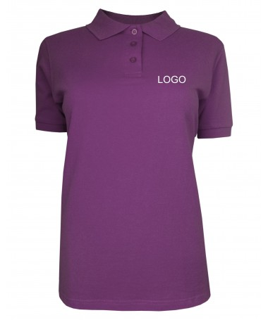 Ladies polo JN071 purple