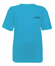 T-shirt for kids JN019 turquoise