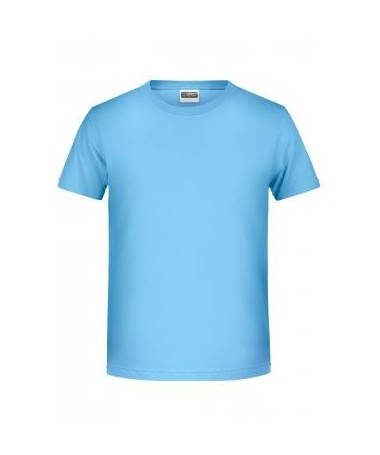 Boys´basic-T 8008B /Sky-blue