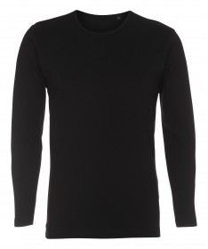 Children's shirt with long sleeves ST405 / black