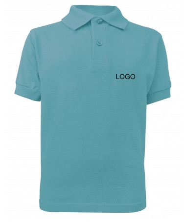 children´s polo JN070k sky-blue