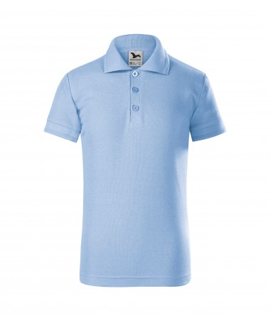 Children's Polo 222 sky-blue
