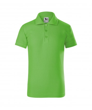 Children's Polo 222 apple-green