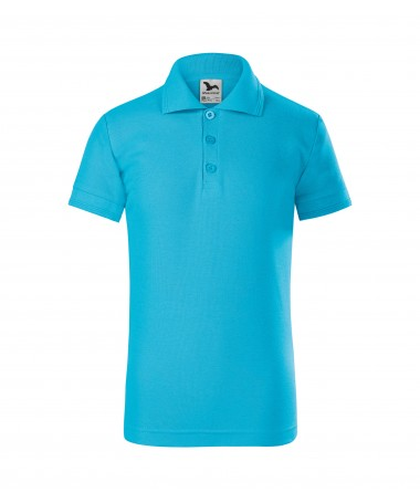 Children's Polo 222 blue atoll
