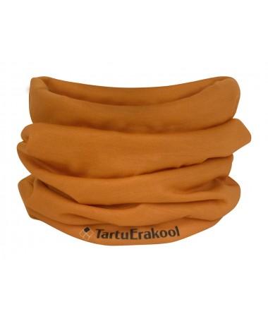 TSK tube scarf, dark grey with TSK logos
