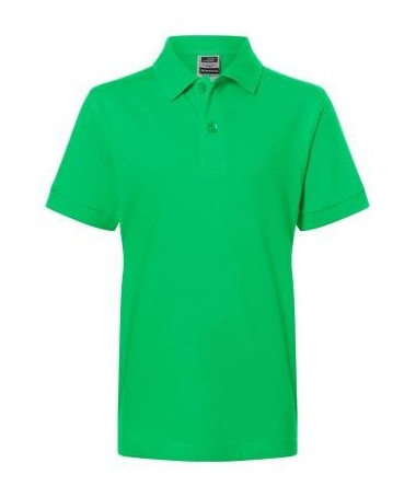 Children's Polo JN070k fern green