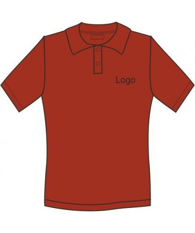 Ladies´polo  JN071 red