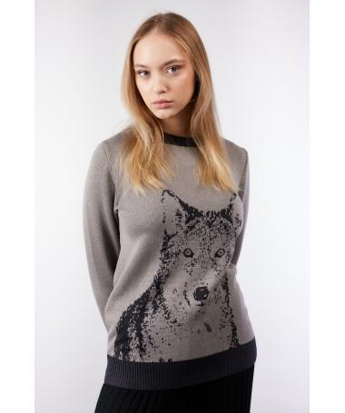 Wolven 2 džemper hall