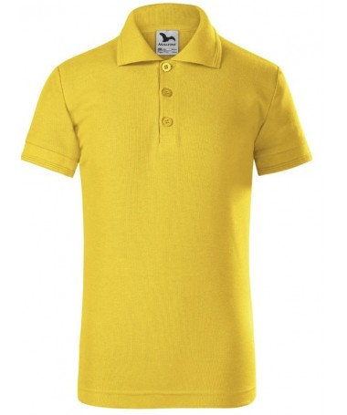 children´s polo JN070k gold yellow